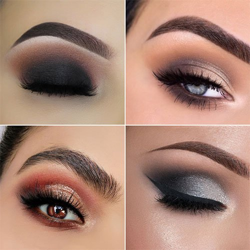 Smokey Eye Prom Makeup