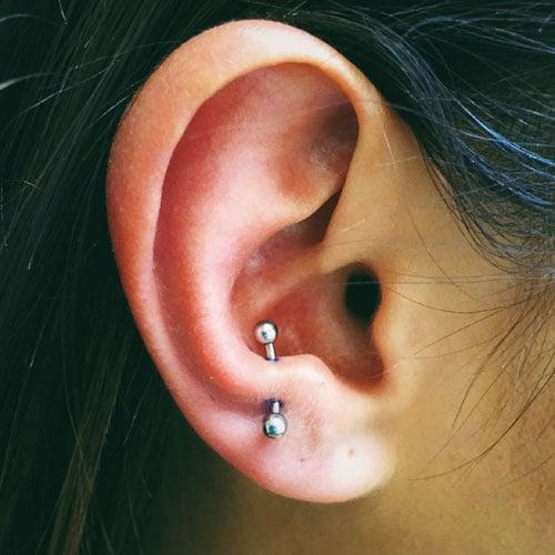 Anti-Tragus Ear Piercing