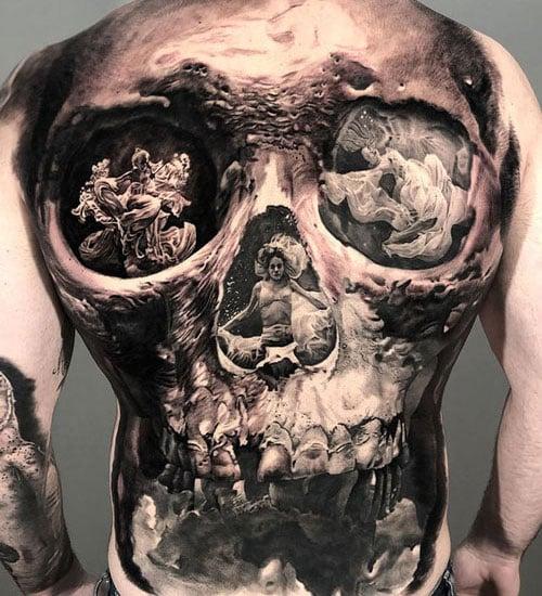 Badass Back Tattoo