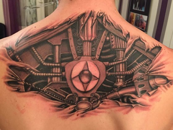 Best Back Tattoos For Men