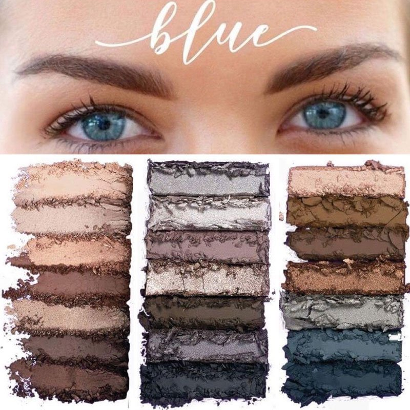 Best Eyeshadow Palettes For Blue Eyes