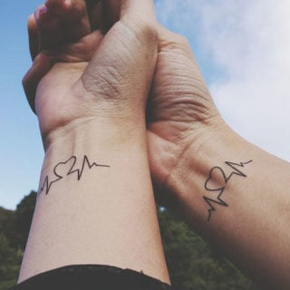 Best Matching Couple Tattoos