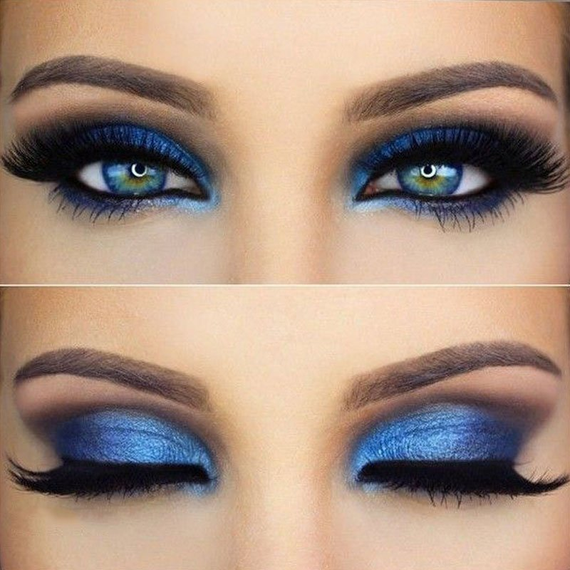 Blue Eyeshadow Looks For Blue Eyes