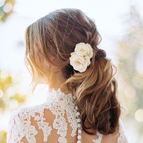 Bridesmaid Ponytail