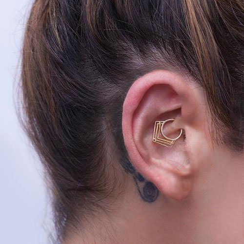 Cool Daith Piercing