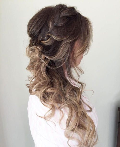 Curls Pulled To One Side