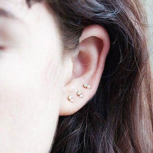 Cute Simple Ear Piercings