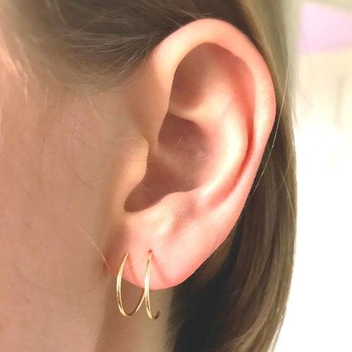 Ear Lobe Piercings