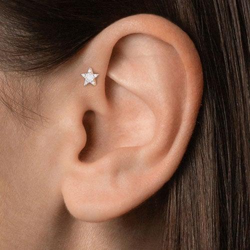Forward Helix Ear Piercing