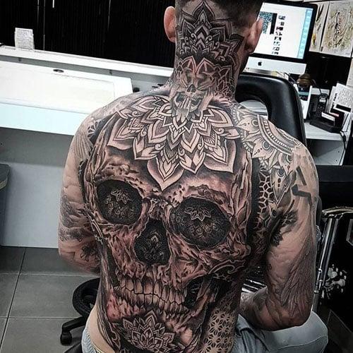 Full Back Tattoos For Men