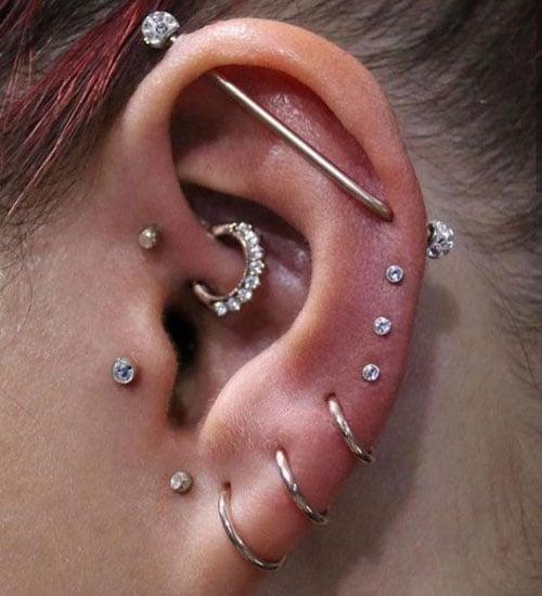 Full Cartilage Piercing