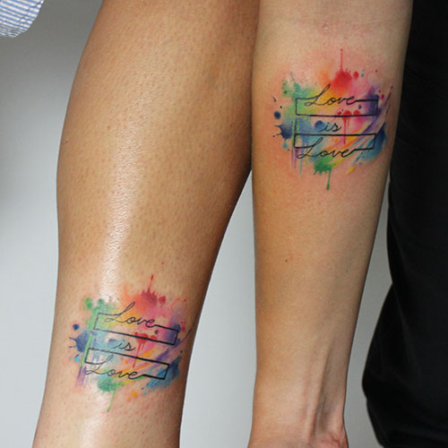 Gay Couple Tattoos