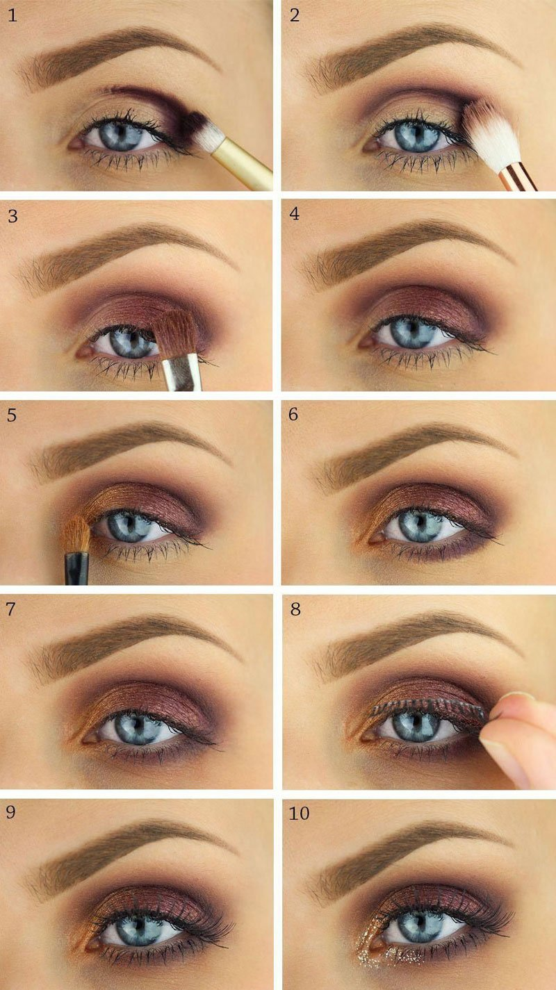 How To Apply Eyeshadow for Blue Eyes