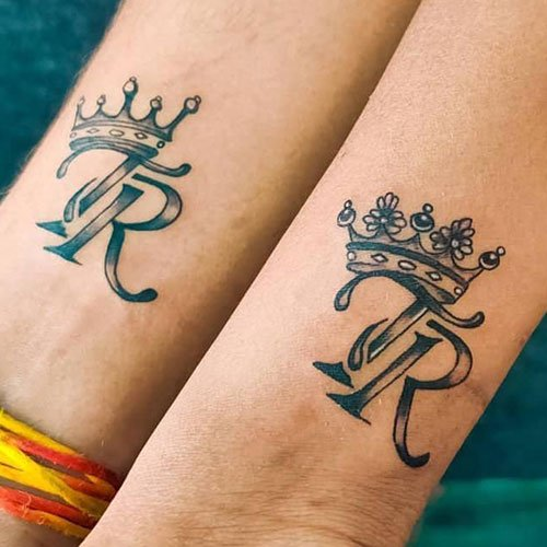 Initial Tattoo Designs For Couples