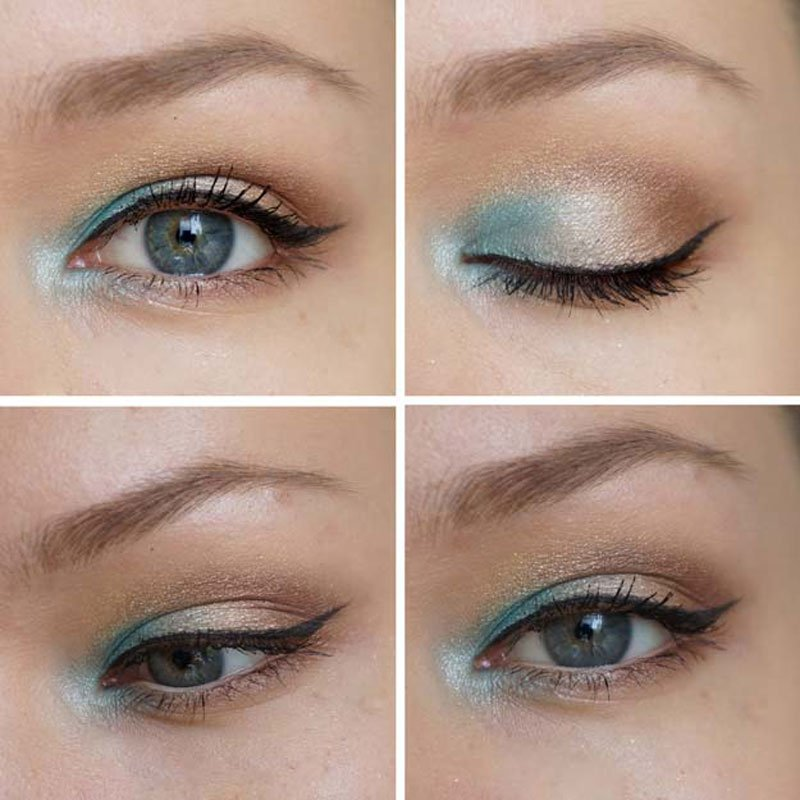 Makeup Looks For Blue Eyes