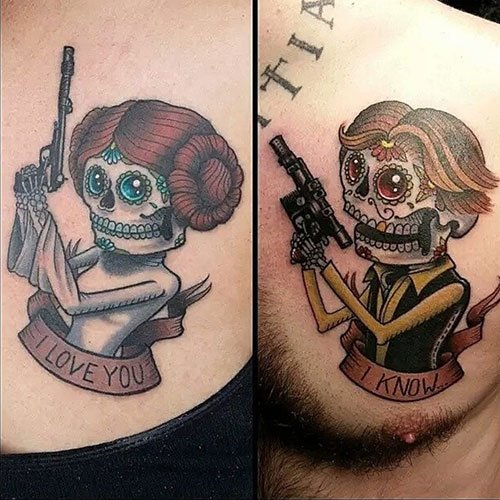 Matching Star Wars Tattoos