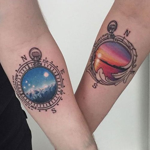 Meaningful Couple Tattoos