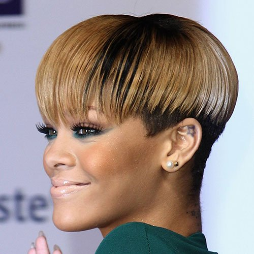 Micro Bowl Cut For Black Women