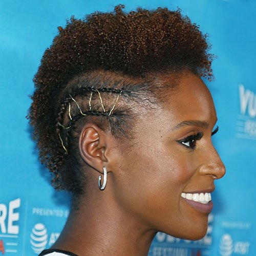 Short Hair with Braided Sides