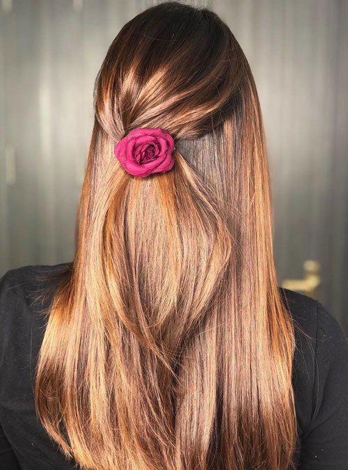 Simple Straight Hairstyles