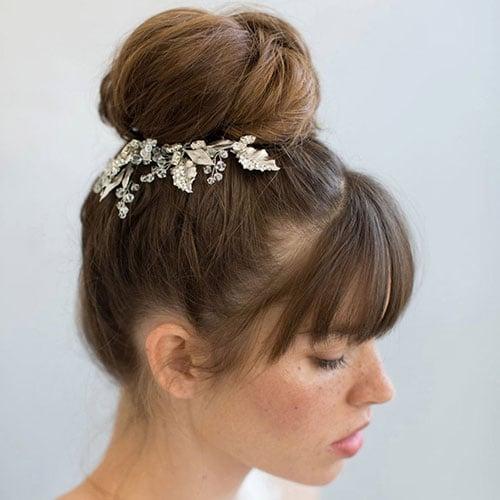 Top Knot Bridesmaid Hairstyles