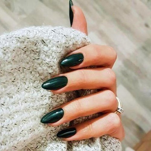 Almond Fall Nails