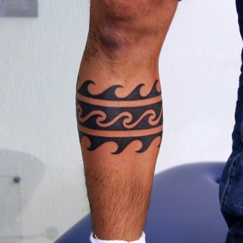 Best Wrap Around Leg Tattoos For Men