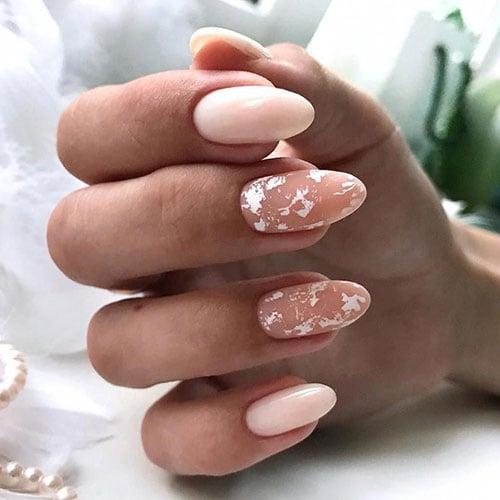Cute Almond Fall Nails