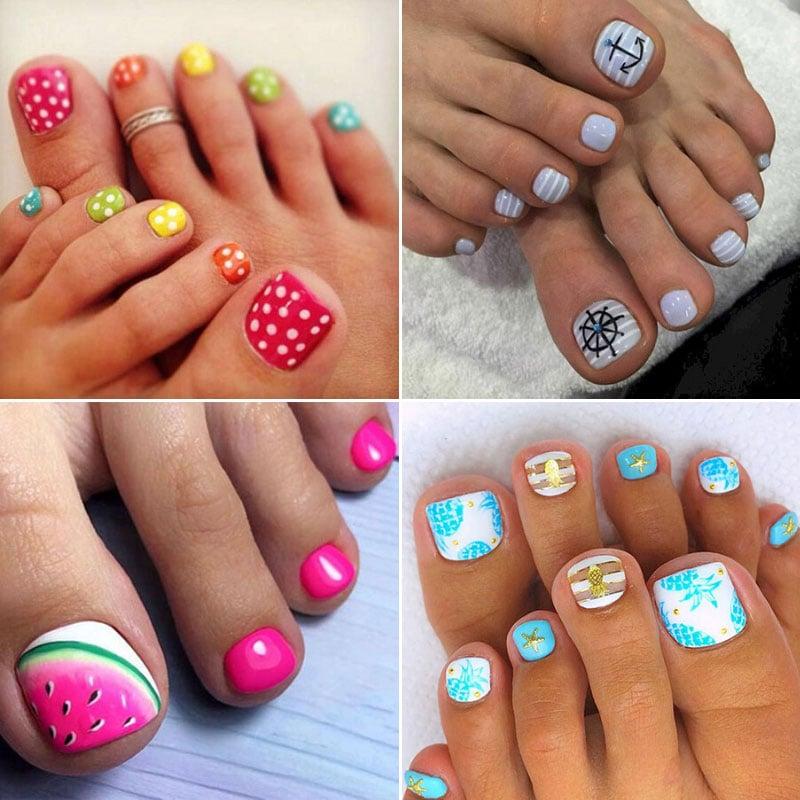 Cute Summer Toe Nail Designs