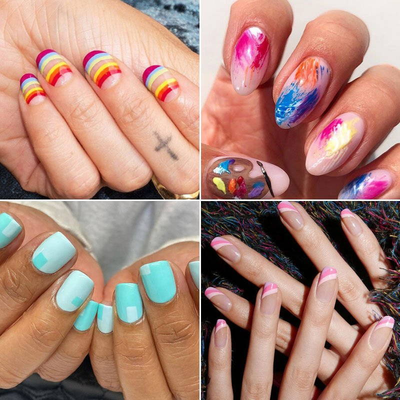 Easy Summer Nail Designs