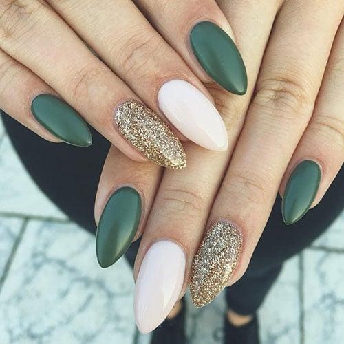 Emerald Green Fall Nail Colors