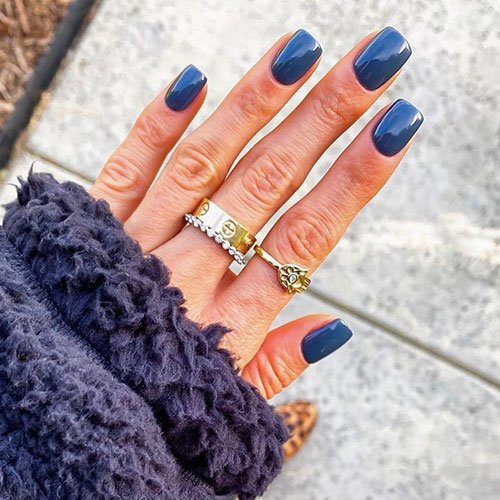 Fall Blue Nail Colors