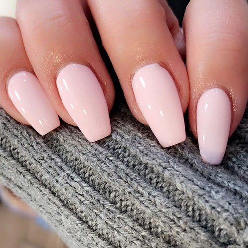 Fall Pink Nail Polish