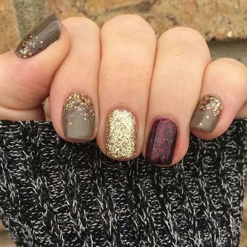Glitter Fall Nail Polish