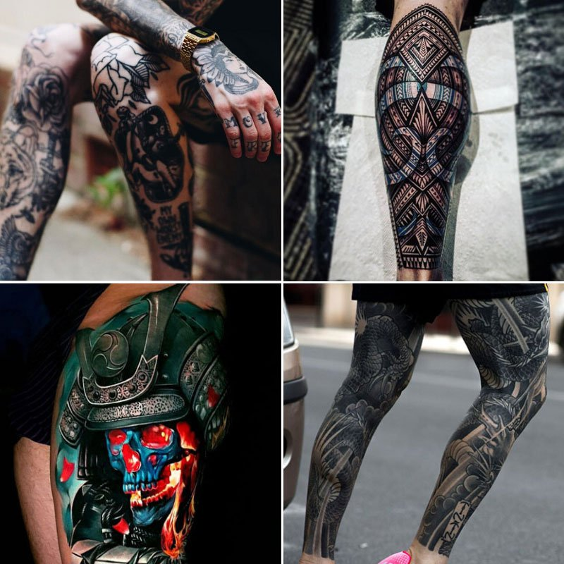 Leg Tattoos For Men