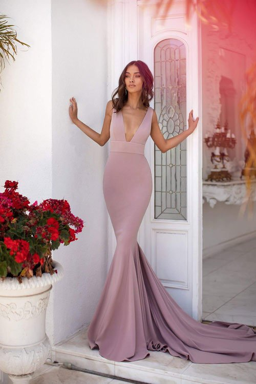 Mermaid Silhouette Dress