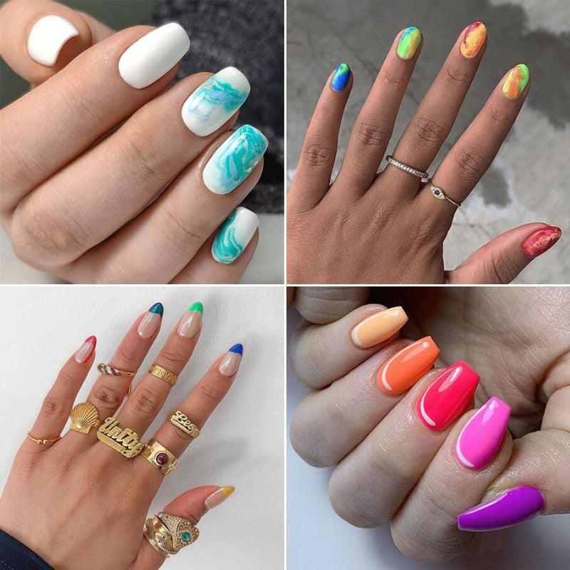 Pretty Summer Nail Ideas