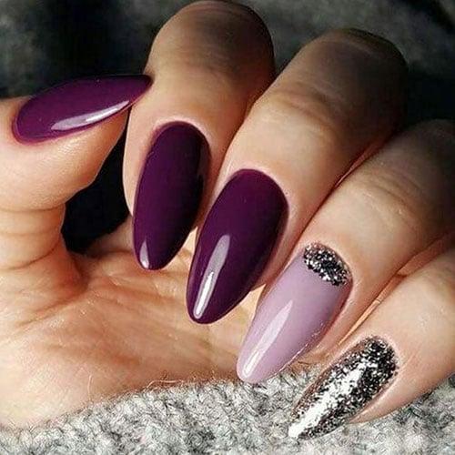 Purple Fall Nail Colors