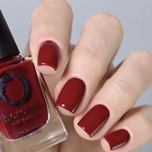 Red Fall Nails