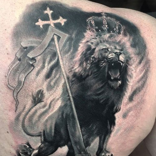 Best Lion of Judah Tattoos