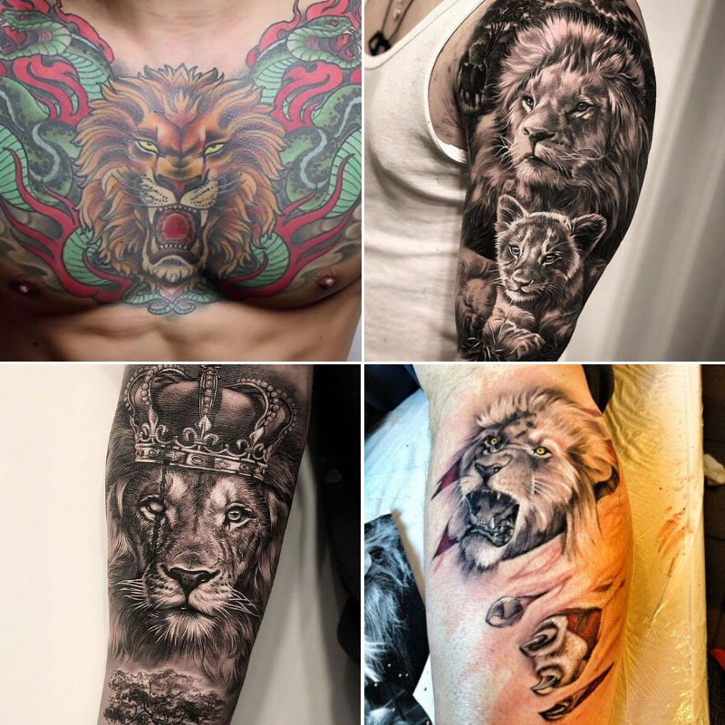 Lion Tattoo Meaning