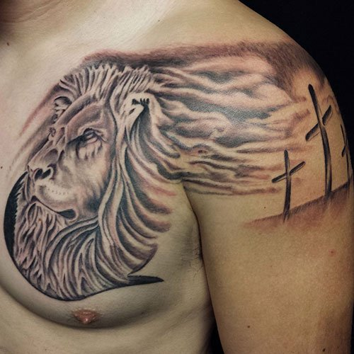 Lion of Judah Tattoo