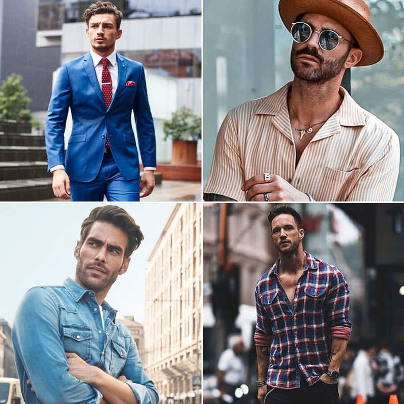 Types of Shirts For Men