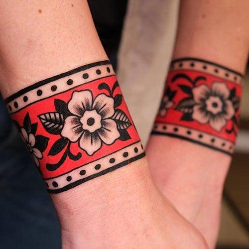 Wrap Around Wrist Tattoo