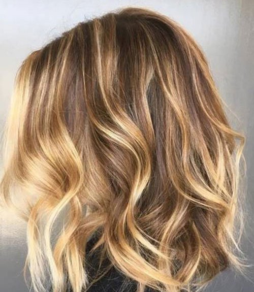 Caramel and Blonde Hair