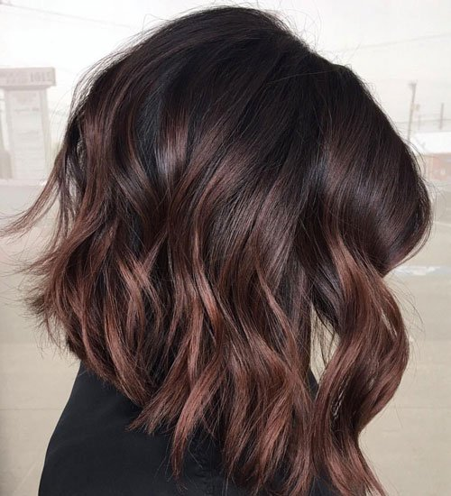 Chocolate Hair with Chestnut Highlights