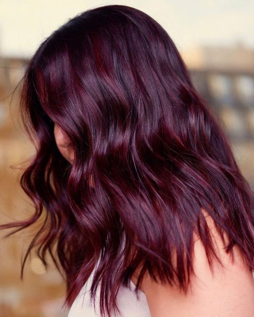 35 Sexy Dark Red Hair Color Ideas 2020 Styles