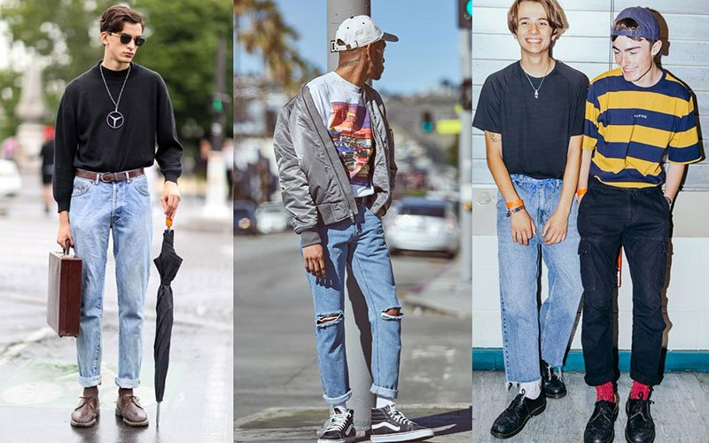 Throwback Outfits For Guys