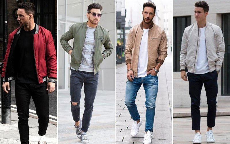 Best Bomber Jacket Outfits For Men
