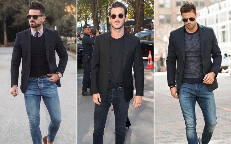 Black Blazer with Jeans